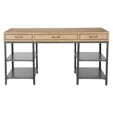 Inspired By Bassett Lucca Desk in Natural Soap Finish