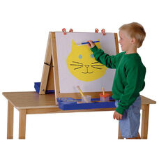 Double Sided Tabletop Easel