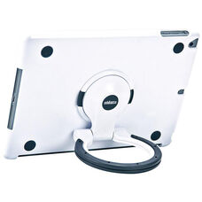 MultiStand for iPad Air 1 - White Shell with White and Black Ring