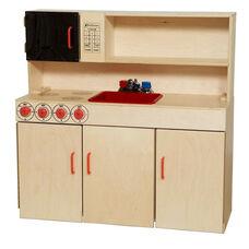 Pretend Play Healthy Kids Plywood 5-n-1 Kitchen Center - 40