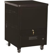 LapTop Depot 8 Capacity Cart - Black