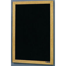 350 Series Open Face Directory with Wood Frame - 18