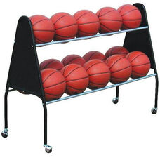 15 Ball Heavy Duty Steel Cart with Casters