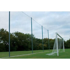 All Purpose Backstop System with Galvanized Steel Poles