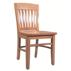 2490 Side Chair with Wood Seat