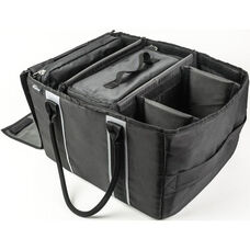 Customizable File Tote - Black and Gray