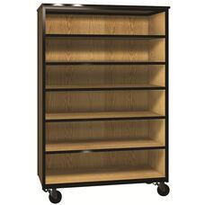 Denali 1000 Series Mobile General Storage Cabinet w/ 4 Adjustable Shelve & 1 Fixed Shelf
