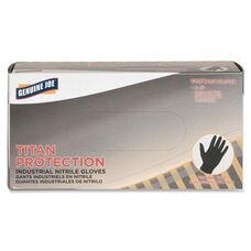 Genuine Joe Titan Nitrile Powder Free Industrial Gloves - Medium