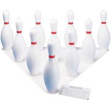 Plastic Bowling Pins - Set of 10 Pins