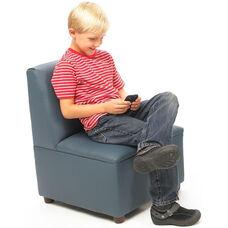 Just Like Home Modern Casual Enviro-Child Chair - Blue - 20