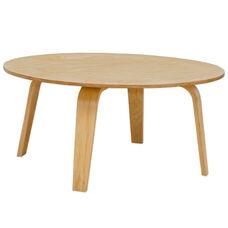 Luna Indoor Plywood Coffee Table - Natural