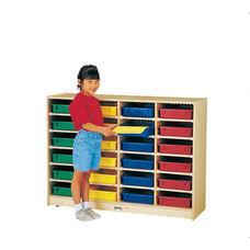 24 Paper-Tray Cubbie Storage Unit