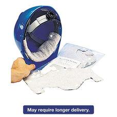 MSA Hard-Hat Sweatband - Cotton - White - 10/Pack