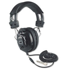 Deluxe Stereo Headphones with Volume Control for Each Ear and Six Foot Cord - 10