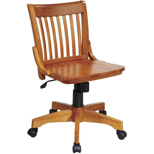 Our OSP Designs Deluxe Armless Wood Banker
