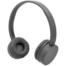 Gray Kidzphonz Headset with In-Line Microphone and AudioSafe™ Adapter Cable