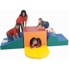 School Age Tunnel Climber Play Center