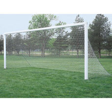 Club Plus Aluminum Permanent/Semi-Permanent In-Ground Soccer Goal