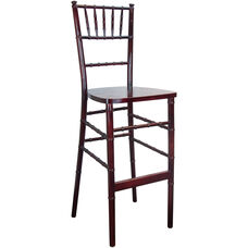 Advantage Mahogany Chiavari Bar Stools