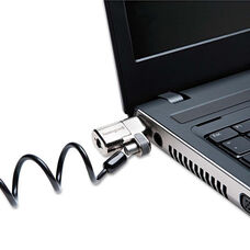 Kensington® ClickSafe Keyed Laptop Lock - 5ft and 6ft Cables - 2/Pack