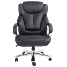 Admiral III Big and Tall Executive Leather Chair with Arms