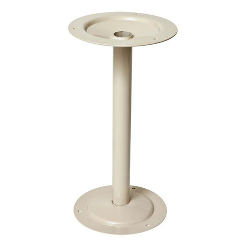 Heavy Duty Steel Bench Pedestal - Tan - 8
