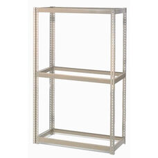 Tan Wide Span Storage Rack Without Deck - 24