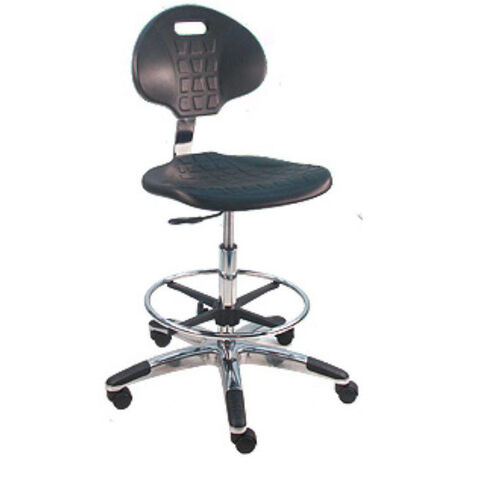 Our Deluxe Cleanroom Polyurethane Laboratory Chair - Aluminum Base is on sale now.
