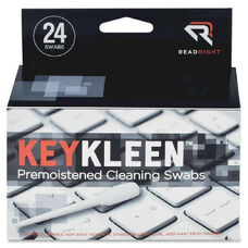 Read/Right Pre-Moistened Keykleen Swabs - Pack Of 24