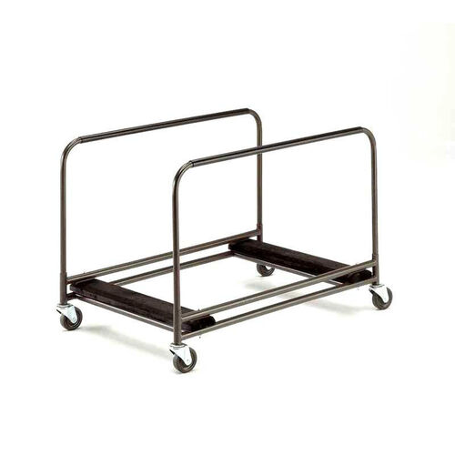 Our Standard Duty Rectangular/Serpentine Edge Table Caddy with Swivel Stem Casters - 31.25