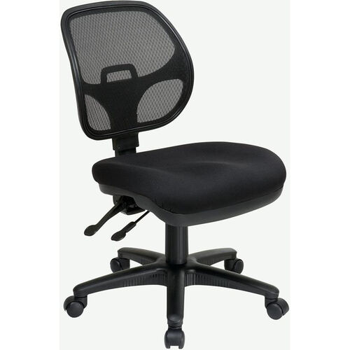 Our Pro-Line II Armless Ergonomic Task Chair with ProGrid® Back and Adjustable Contoured Seat - Black is on sale now.