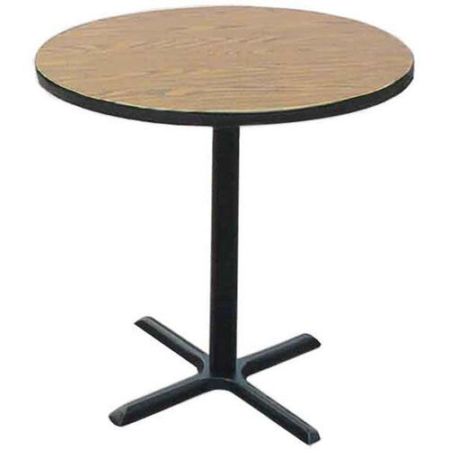 Laminate Top Round Cafe Table with 42