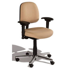 Fusion Medium Back Desk Height ESD Chair - 4 Way Control
