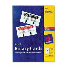 Avery Laser/Inkjet Rotary Cards - 2 1/8