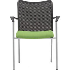 Inertia Mesh Back Side Stack Chair