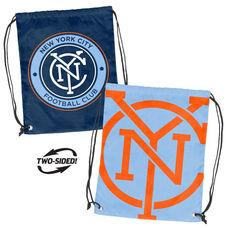 NYC Futbol Club Team Logo Doubleheader Drawstring Backsack