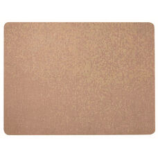 Frameless Burlap Weave Vinyl Display Panel with Radius Corners - Coffee Cream - 18