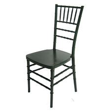 1000 lb. MAX Charcoal Grey Resin Steel Core Chiavari Chair