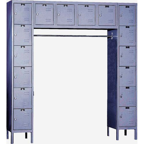 Our Premium Stock Box Locker - Unassembled - 16 Person Unit - 72