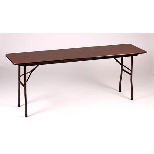 Fixed Height Rectangular Melamine Top Folding Table - 18