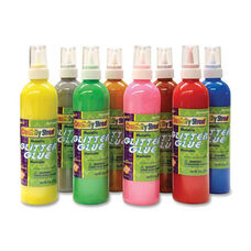 Chenille Kraft Company Glitter Glue - 8/PK - Metallic Colors/Assorted