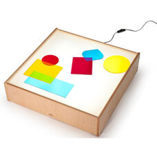 LED Tabletop Light Box in Birch Plywood - 24.50