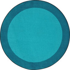 Kid Essentials All Around Nylon Rug with SoftFlex Backing - Teal - 64