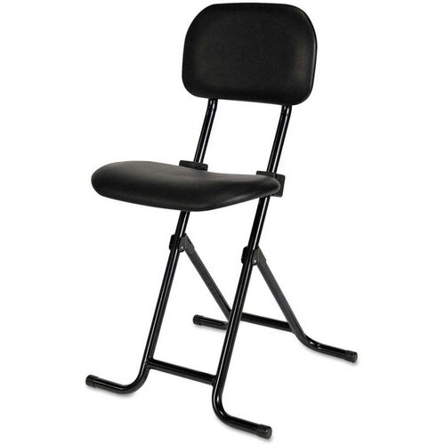 Our Alera Plus™ IL Series Height-Adjustable Folding Stool with Back - Black is on sale now.