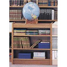 3-Shelf Double Sided Bookcase Starter