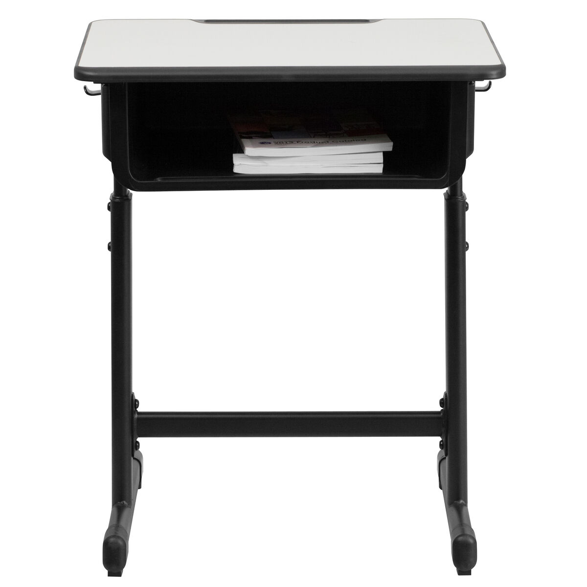 Grey Open Front Desk Yu Ycy 046 Gg Schoolfurniture4less Com