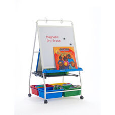 Classic Royal® Reading and Writing Center with Storage Tubs