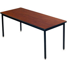 Laminate Top All Welded 1 - 1/4'' Particleboard Core Conference/Class Room Table - 36''W x 72''D x 29''H