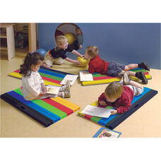 CanDo Child Sized Cushy-Air Multi-Colored Mat - 17
