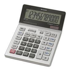 Sharp 12 Digit Calc. -Ta x Feature - Dual Pwr -5